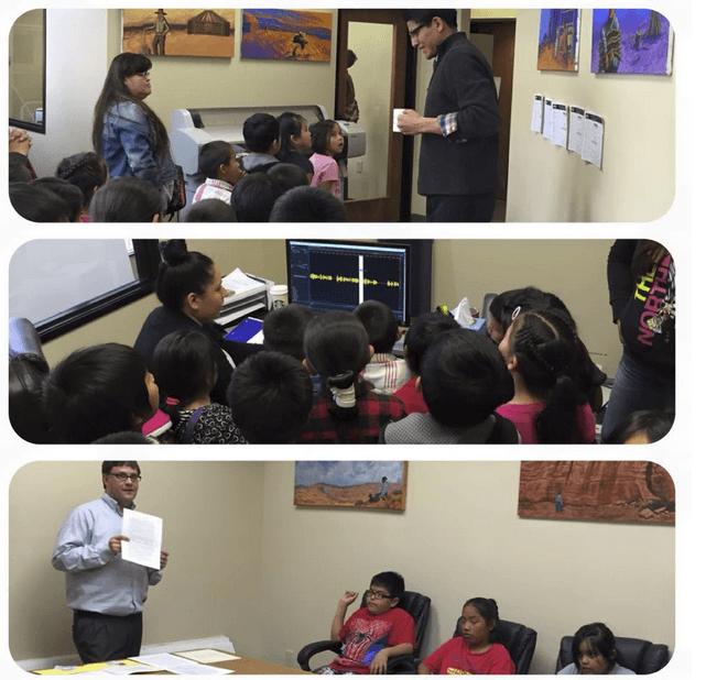 School Visit To Salina Bookshelf Office