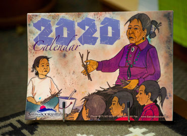 Native America Calling Radio Interview – Salina Bookshelf 2020 Calendar